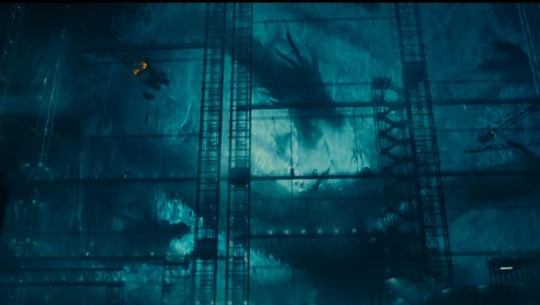 Godzilla King of the Monsters Ghidorah In Ice