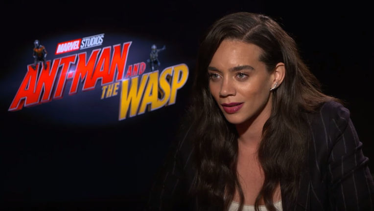 Hannah John-Kamen on Ant-Man and the Wasp