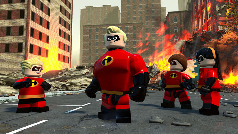 LEGO Incredibles - Group