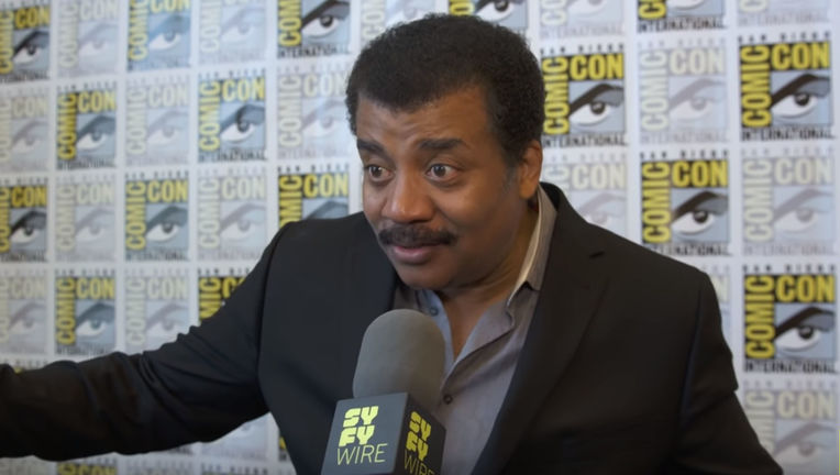 Neil DeGrasse Tyson at Comic=Con
