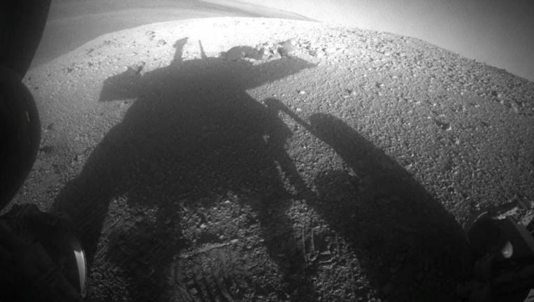 NASA's Mars rover Opportunity on Mars