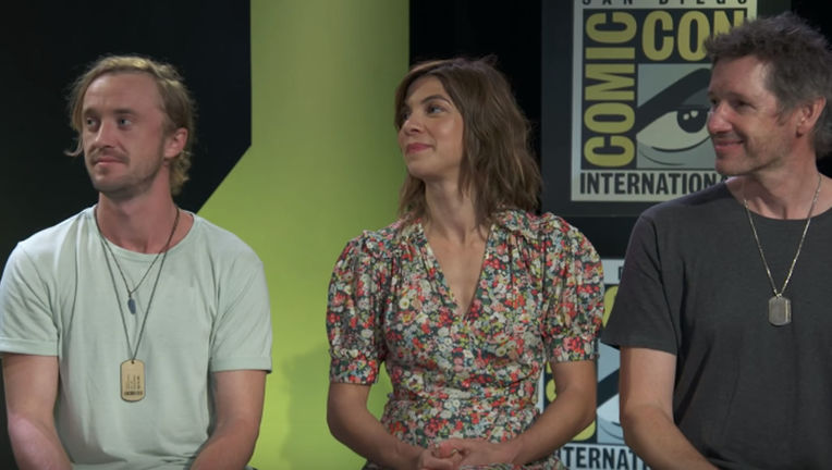 Origin cast at Comic-Con
