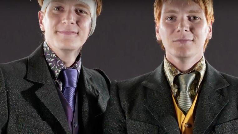 Fred and George Weasley from Harry Potter