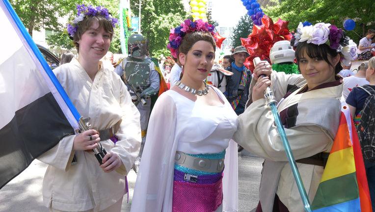 Looking for Leia — Seattle Pride Rebel Legion