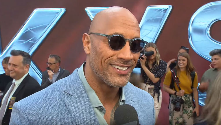 The Rock on Black Adam in Shazam