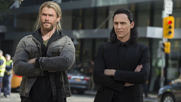Thor and Loki hero