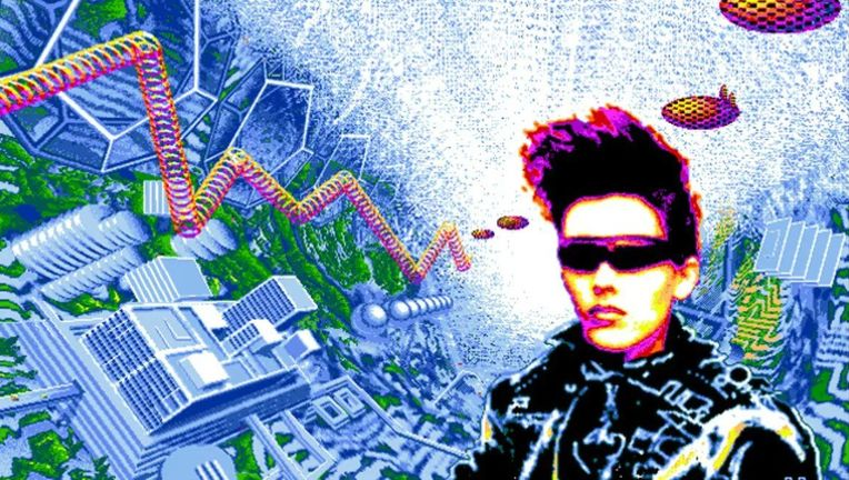 Timothy Leary Neuromancer Art