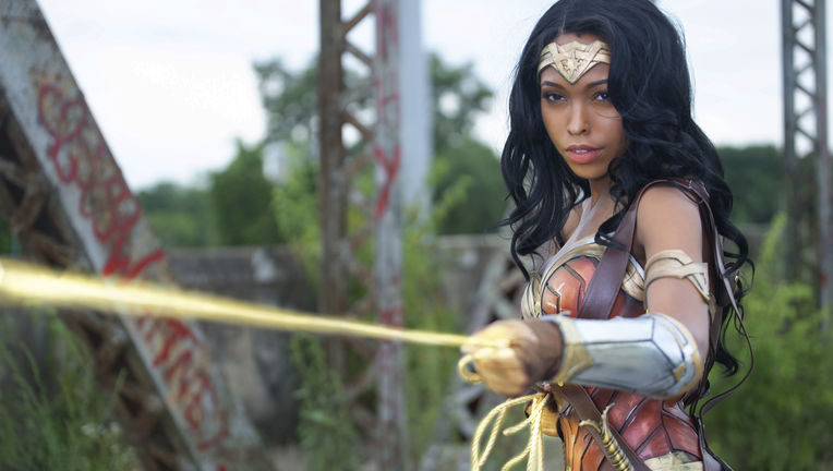Wonder Woman cosplay Jasmine Mackey