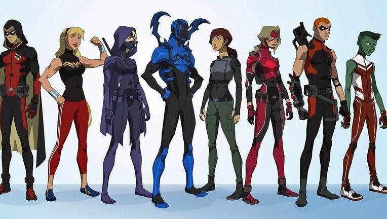 Young Justice Outsiders Roster