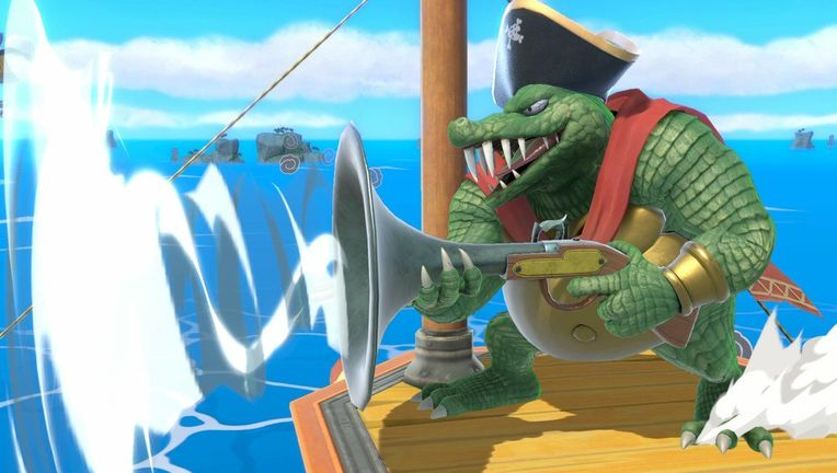 King K. Rool Super Smash Bros.