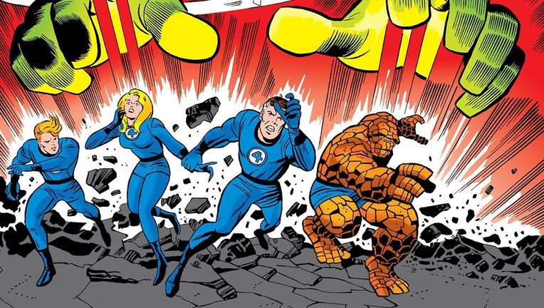 Fantastic Four comics hero