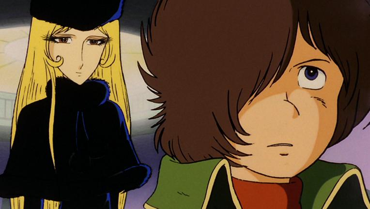 Galaxy Express 999 - Maetel and Companion