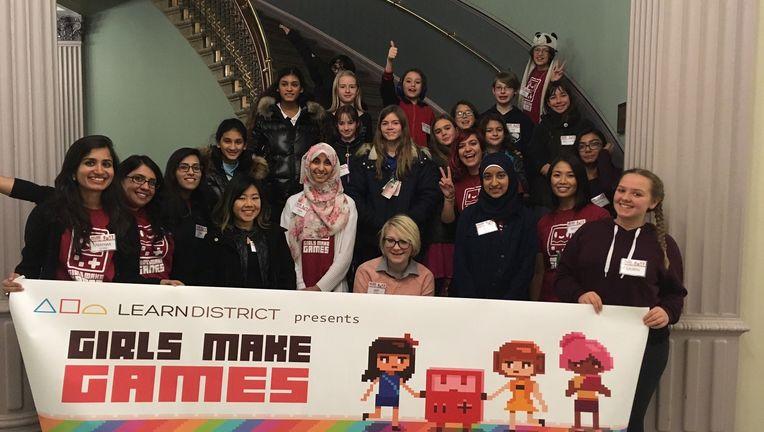 Girls Make Games White House.JPG