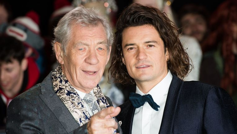 Ian McKellen Orlando Bloom
