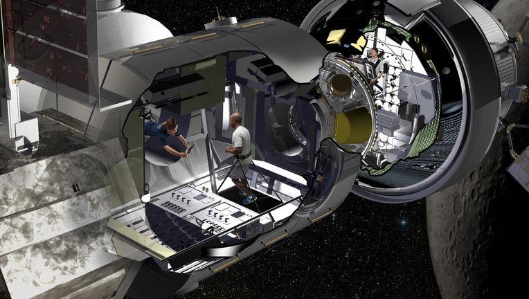 Lockheed Martin space module