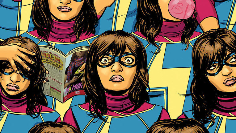 Ms. Marvel #5 Hero