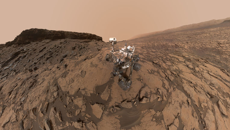 NASA Curiosity Mars rover