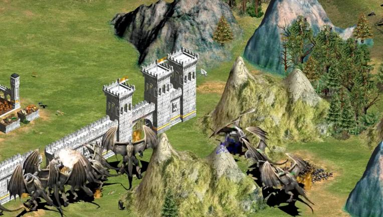 Ages of Empires LOTR mod