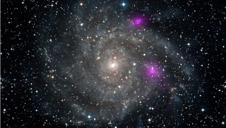 NASA image of a black hole