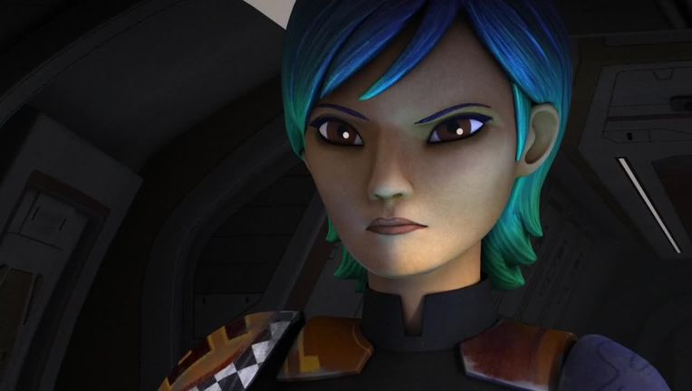Star Wars Rebels Sabine Wren hero