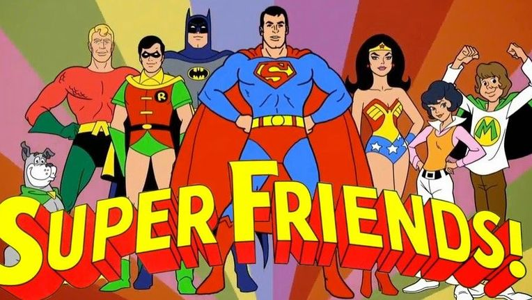 Super Friends hero
