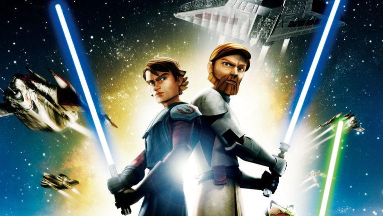 Star Wars: The Clone Wars film poster