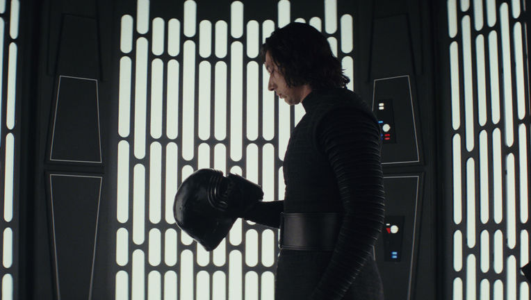 Kylo Ren Adam Driver Star Wars: The Last Jedi