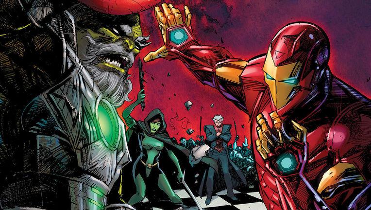 Iron Man Maestro GZA album cover Marvel cropped