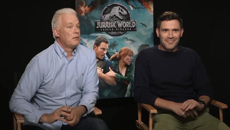 Jurassic World Dinosaurs Scared The Actors SYFY WIRE Interview Screengrab