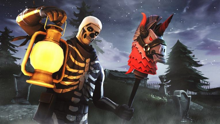 fortnite epic games skull trooper