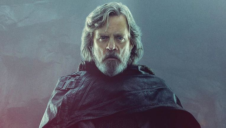 Star Wars The Last Jedi Luke portrait hero