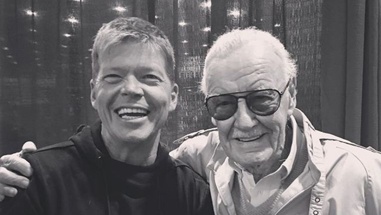 Rob Liefeld and Stan Lee from the Cincinnati Comic-Con (Sept. 2016)