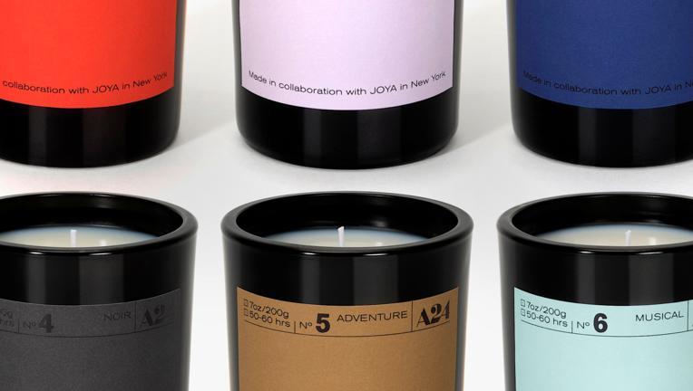 A24 genre candles
