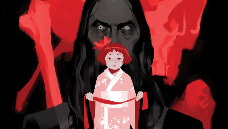 Crimson Lotus #1 Cover Unlettered