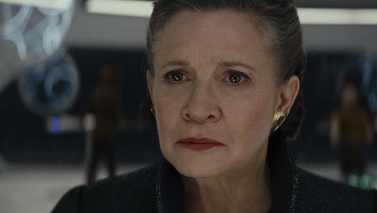 Carrie Fisher General Leia Organa Star Wars The Last Jedi