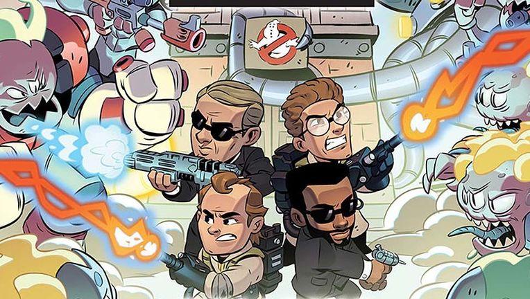 Ghostbusters Men in Black crossing streams hero