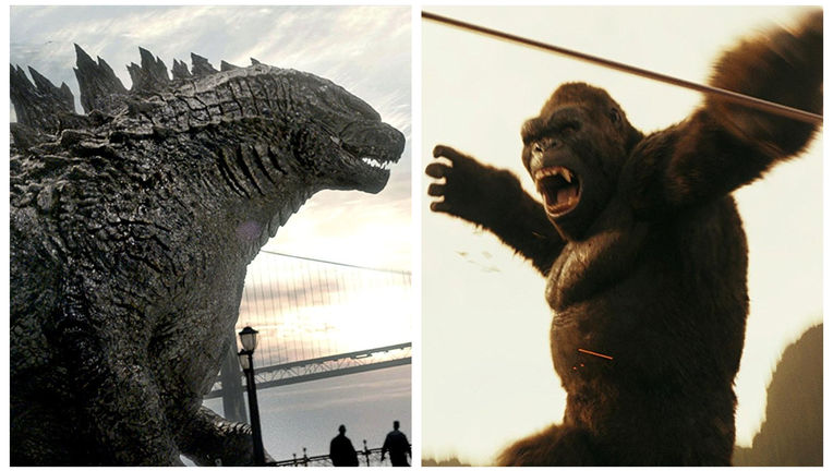 Godzilla and King Kong