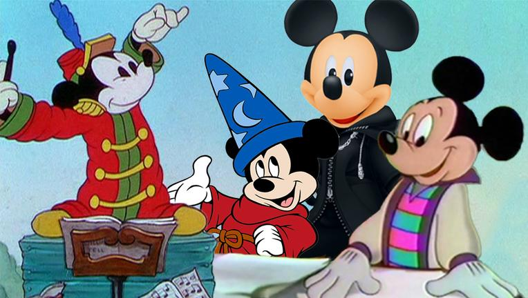 Mickey Mouse's Best Looks