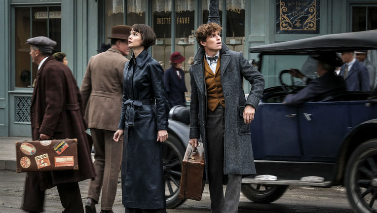 Fantastic Beasts: The Crimes of Grindelwald Eddie Redmayne Katherine Waterston