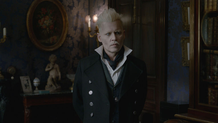 Johnny Depp Gellert Grindelwald Fantastic Beasts: The Crimes of Grindelwald
