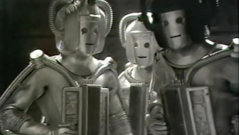 Cybermen from Doctor Who