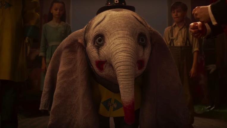 Dumbo Disney Tim Burton