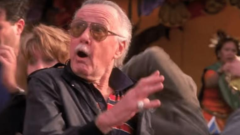 Stan Lee Spider-Man 2002