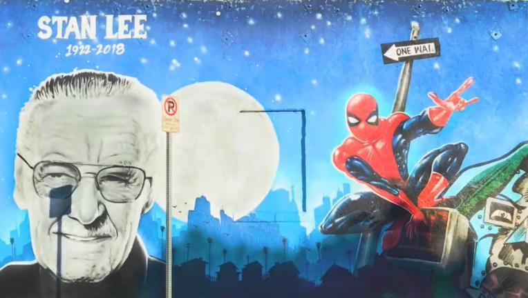 Stan Lee mural