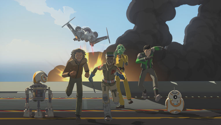 Star Wars Resistance Episode 8 ENSEMBLE