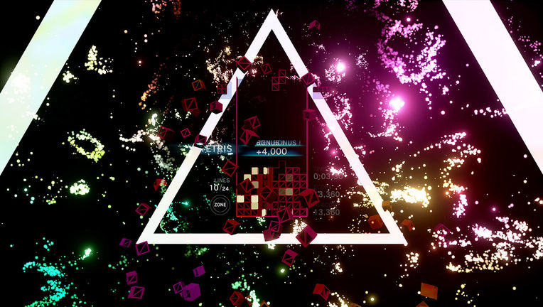 Tetris Effect - Trippy Triangle