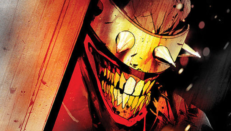 Batman Who Laughs #1 Cover