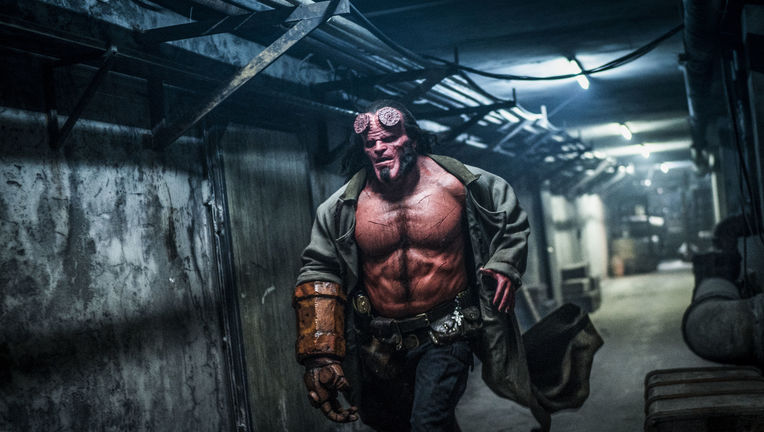 Hellboy reboot David Harbour