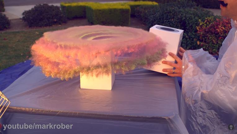 mark rober glitter bomb