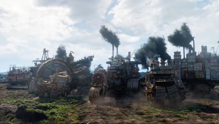 mortal engines rotten tomatoes